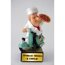 """Забавная фигурка """"Лучшая пицца в городе"""""""