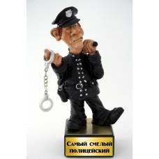 """Забавная фигурка """"Самый смелый полицейский"""""""