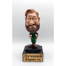 "Фигурка - болванчик ""Лучший бариста"""