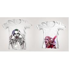 Парные футболки Джокер и Харли