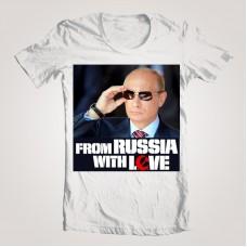 "Футболка мужская ""From Russia with love"""