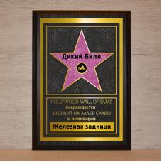 Голливудская звезда Байкеру