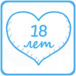 18 лет. Бирюзовая свадьба