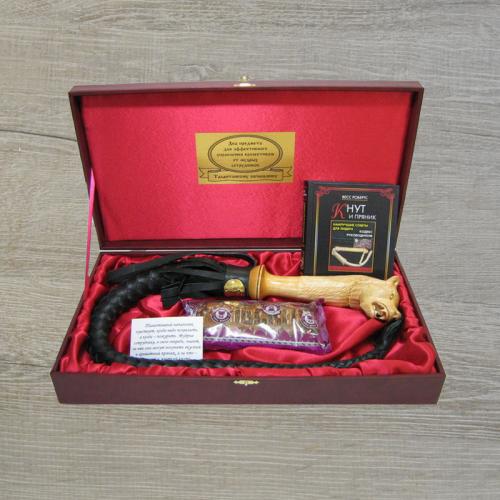 Подарочный набор для шефа Кнут и пряник